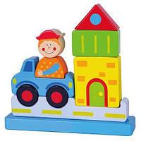 Магнитный пазл Viga toys Город (59703)