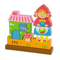 Магнитный пазл Viga toys Красная шапочка (50075)
