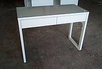Стол маникюрный со стеклом на столешнице V144, фото 1