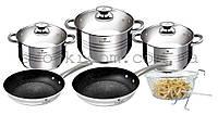 Набор посуды Blaumann BL-3243 кастрюли со сковородками