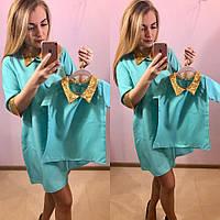 Комплект платья с паеткеми (много расцветок)