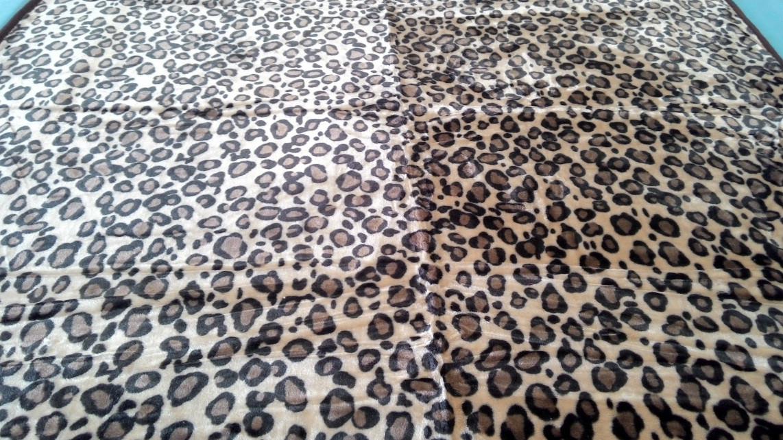 Плед акриловый двуспальный TRUE LOVE шкура гепард