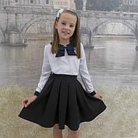 """Школьная юбка, юбка для девочек  """"Пачка""""черный"""