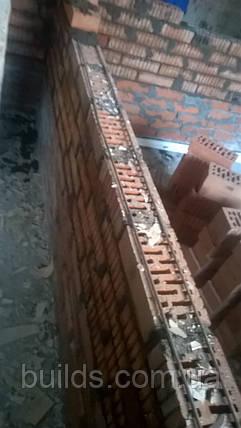 Кладка перегородок из кирпича, фото 2