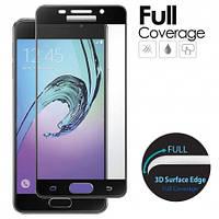 Защитное стекло Full Screen Premium Tempered Glass 2,5D для Samsung Galaxy A5 2016 Duos SM-A510 Black, фото 1