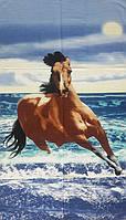 Полотенце пляжное Horse (Pliag-039)
