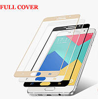 Защитное стекло Full Cover Premium Tempered Glass для Samsung Galaxy A5 2016 Duos SM-A510, фото 1