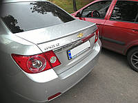 Спойлер багажника ( сабля, лип спойлер, утиный хвостик) Chevrolet Epica 2006-2012 г.в. Шевролет Епика ABS