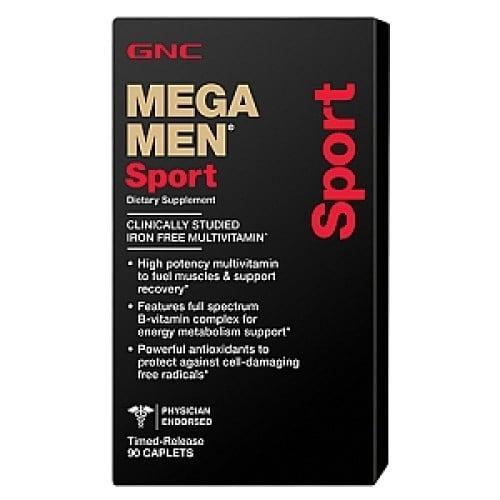 Витамины и минералы для спортсменов Mega Men Sport (90 caps)