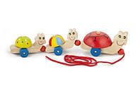 Игрушка-каталка Viga toys Черепшки (59949)
