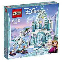Конструктор оригинал Лего Волшебный ледяной замок Эльзы  Lego Elsa's Sparkling Ice Castle 41148
