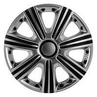 Колпаки колес Star DTM Super Silver R14 (карбон)