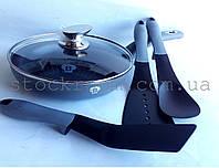 Набор сковородок Blaumann BL-3150 с кухонными аксессуарами