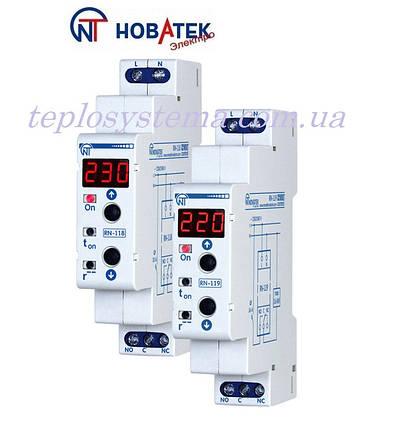 """Реле контроля напряжения RN - 118 (10 А, 2.3 кВт) """"Новатек-Электро"""" (Украина), фото 2"""