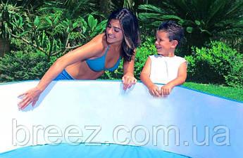Бассейн детский каркасный Intex 58472 Океанский риф 244 х 46 см, фото 2