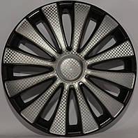 Колпаки колес Star GMK Super Silver R14 (карбон)