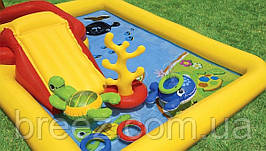 Детский надувной центр Intex 57454 Аквапарк 254 х 196 х 79 см, фото 3