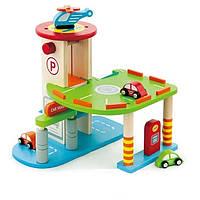 Игровой набор Viga toys Гараж (59963)