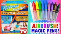 Воздушные фломастеры Airbrush Magic Pens