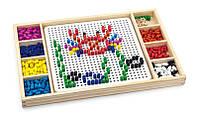 Игрушка Viga toys 2 в 1 Мозаика & Лудо (59990VG)