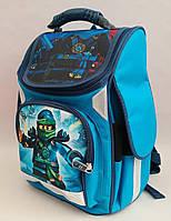 Каркасный ортопедический рюкзак для мальчиков младших классов