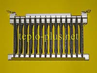 Горелка в сборе S10042 (14 элементов) + газовый коллектор S10039 Saunier Duval Themaclassic, Combitek, Semia