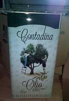 Оливковое масло Contadina 5л Olio Extra Vergine Di Oliva Италия Контадина Екстра Виржин постащик