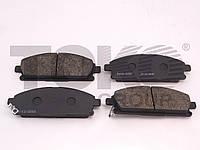 Колодки тормозные дисковые на ACURA MDX