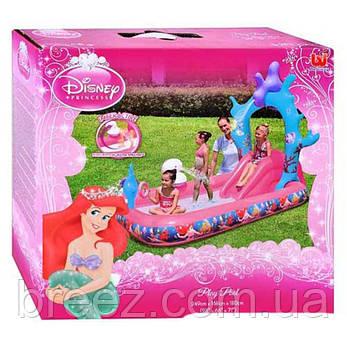 Детский надувной центр BestWay 91051 Русалочка 264 х 168 х 180 см, фото 2