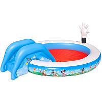 Детский надувной центр Bestway 91014 Клуб Микки Мауса 231 х 165 х 78 см