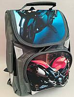 Ортопедический каркасный рюкзак для мальчиков 1-4 классов
