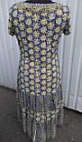 Платье женское трикотажное длинное, фото 4