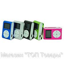 Плеер МП3 MP3 металлический с экраном и клипсой!Акция, фото 2