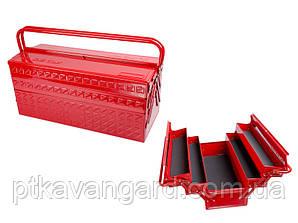 Ящик переносной для инструмента металлический King Tony 87402