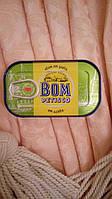 Тунец консервированный в оливковом масле Bom petisco Atum posta em azeite 120 g