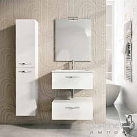 Мебель для ванных комнат и зеркала Royo Group Комплект мебели для ванной комнаты Royo Group Bannio Play 60 set 1, белый