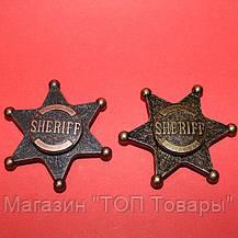 Спиннер Шериф металлический в подарочной коробке,антистрессовая игрушка Fidget Spinner!Акция, фото 3