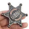Спиннер Шериф металлический в подарочной коробке,антистрессовая игрушка Fidget Spinner!Акция, фото 2