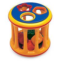 Развивающая игрушка Tolo Toys сортер вращающийся с формами (89410)