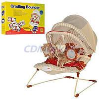 Детский шезлонг-качалка 2 в 1 Cradling Bouncer, колыбель для малышей