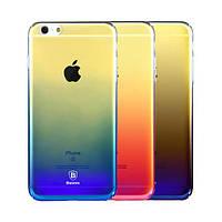 """Пластиковая накладка Baseus Glaze Ultrathin для Apple iPhone 6/6s (4.7"""") Черный"""