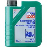 Liqui Moly Rasenmuher-Oil HD 30 Минеральное моторное масло для газонокосилок 1л (3991)