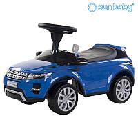 Каталка толокар Sun Baby Range Rover Blue Лицензия!