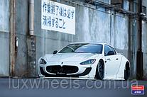 Maserati Granturismo на дисках Vossen VWS-2