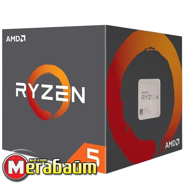 Процессор AMD Ryzen 5 1400 (3.2GHz 8MB 65W AM4) Box (YD1400BBAEBOX)