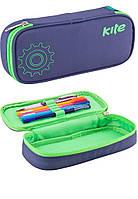 Пенал - коробка Smart (Смарт) K17-662-6 (синий), ТМ Kite