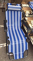 Шезлонг-кресло  90х60х154 (ВхШхД) сетка, фото 1