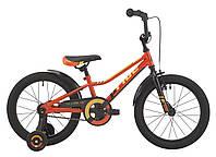 """Детский двухколесный велосипед 18"""" Pride Oliver 2017 ТМ PRIDE Оранжевый/жёлтый/черный SKD-42-56"""