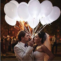 Шарики свадебные перламутровые 100 штук 30 см