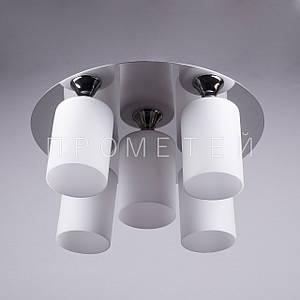 Люстра на 5 лампочек (хром)  P3-11629A/5/CR+MK